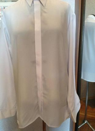 Шёлковая рубашка, р. 52-54