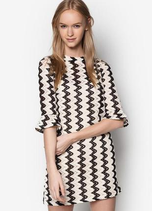 1+1=3 🎁 стильная трендовая туника платье с рукавчиком