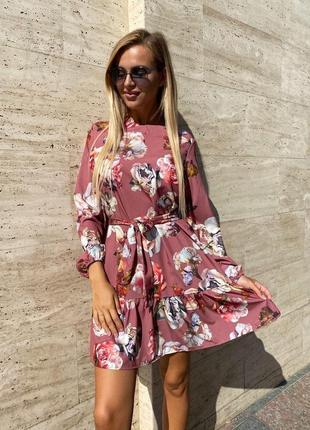 Шикарнейшее невероятно женственное пудровое платье 🌷
