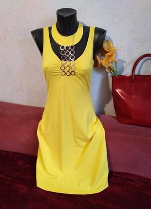 Roccobarocco,италия, коктельное 👗 платье с декором