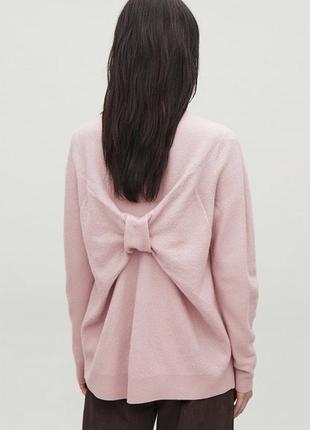 Cos свитер с бантом