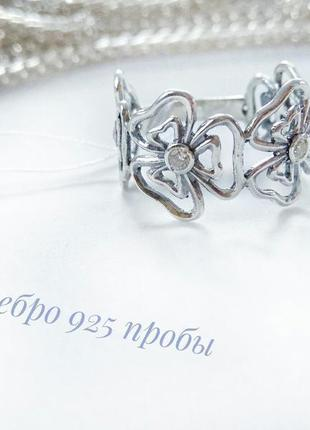 Серебряное кольцо р.18, колечко, серебро 925 пробы