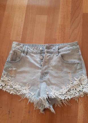 Джинсовые шорты + пляжная накидка в подарок