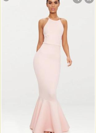 Sale🎉🎉🎉шикарное макси платье prettylittlething 😘💕🌺