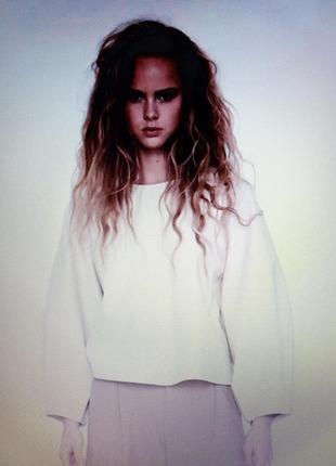 Новая рубашка свитшот блуза zara