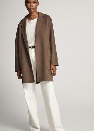 Пальто massimo dutti  размер  xs  34/36