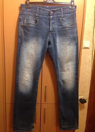 G star raw джинсы 33/32