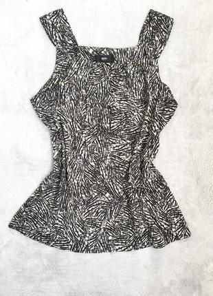 Блуза майка топ шифоновая