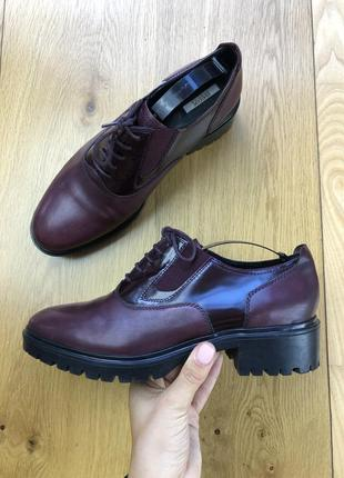 Шикарные туфли geox clarks ecco