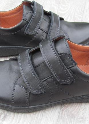 Туфли на липучках для мальчика школа 31--40р1 фото