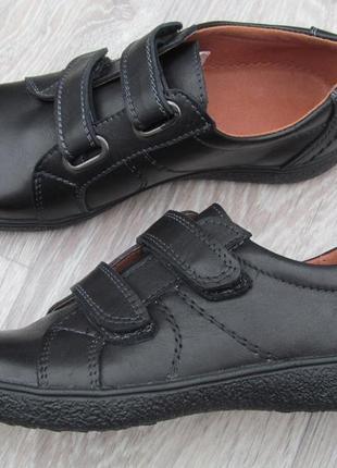 Туфли на липучках для мальчика школа 31--40р2 фото