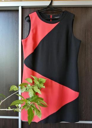 """Шикарнейшее, оригинальное платье сукня """"зигзаг""""вискоза debenhams"""