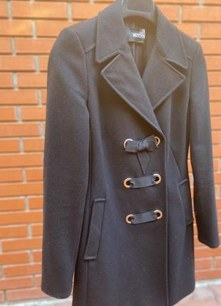 Love moschino шерстяное пальто