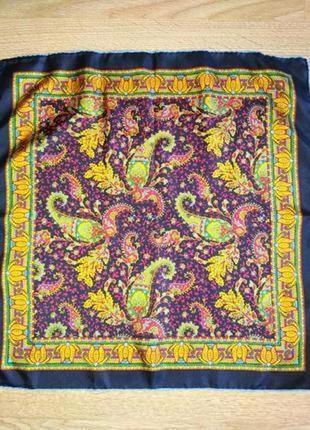 Стильный шейный шелковый платок, аксессуар для сумочки,шов роуль