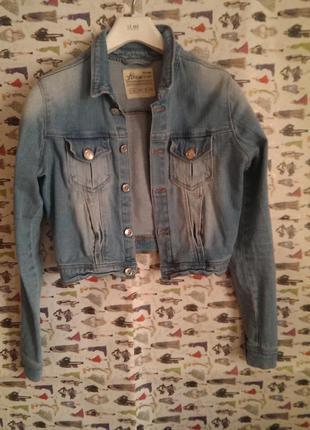 Джинсовка куртка джинсовый пиджак деним