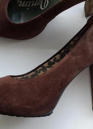 Стильные замшевые туфли tommy hilfiger