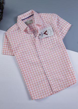 Рубашка zara на 1-1.5 года/86 сv