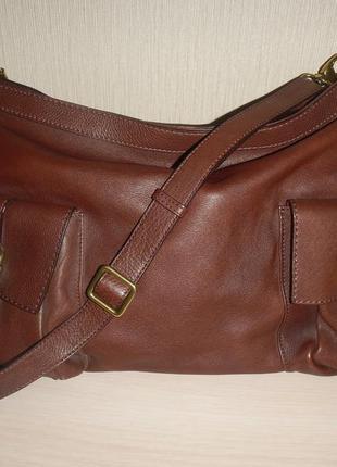 Кожаная сумка abro