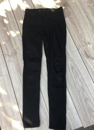 Стильные актуальные штаны джинсы стрейч h&m zara denim slim skinny
