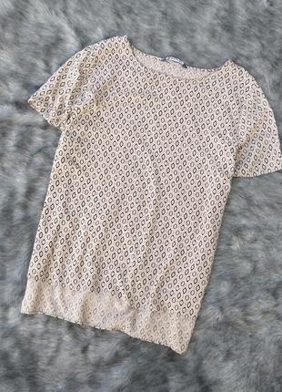 Блуза топ кофточка из натуральной вискозы bonmarché