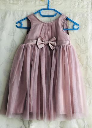 Красивое нарядеое платье pink&violet