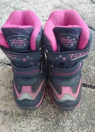 Термо ботиночки на дівчинку.