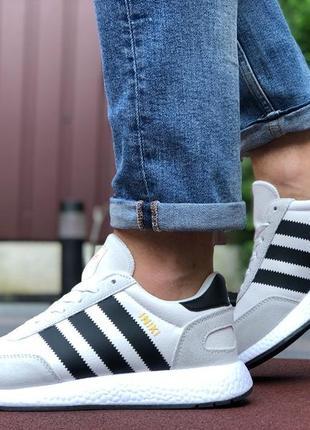 Мужские кроссовки adidas iniki адидас весна осень лето