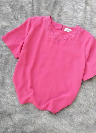 Блуза топ кофточка прямого кроя