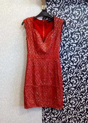 Вечернее платье pretty little thing5 фото