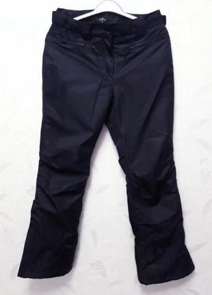Теплые, непромокаемые лыжные штанины, 44-46-48, полиэстер,  crane