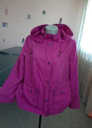 Курточка плотная плащевка 48-50р.