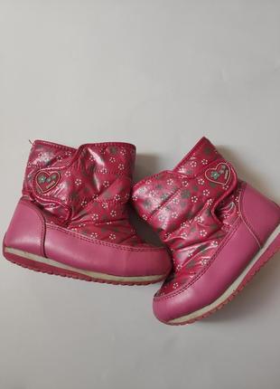 Зимові сапоги для дівчинки