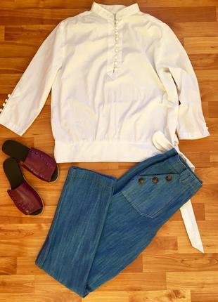 Продажи до 23.08,рубашка белая  celine, оригинал
