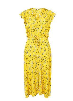 Новое платье 🌼f&f 🌼цветочный принт размер s