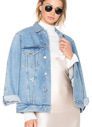 Стильная джинсовая куртка, джинсовка