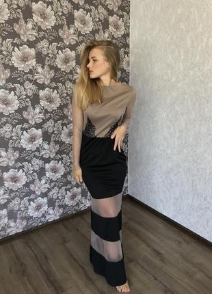 Сукня вечірня ручної роботи