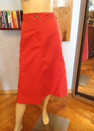 Прекрасная, натуральная юбка бренда charles vogel р. 58-62.