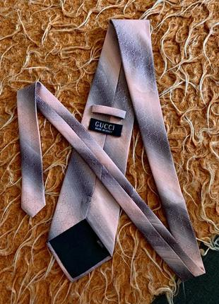 Галстук gucci монограмма 100% silk hermès dior prada fendi