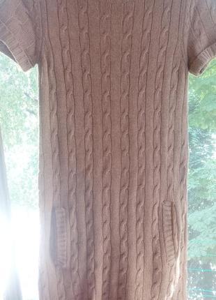 Шерстяное кашемировое платье 👗 massimo dutti