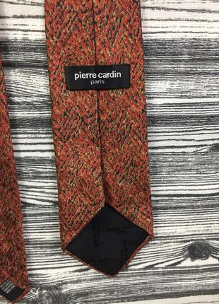 Крутой брендовый шелковый галстук pierre cardin paris silk gucci versace!