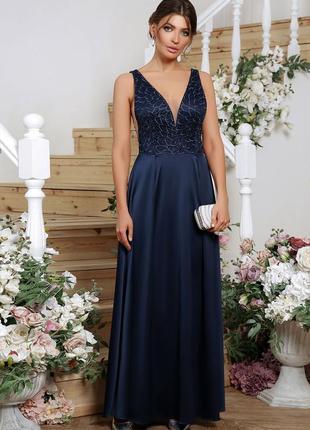 Роскошное вечерние платье