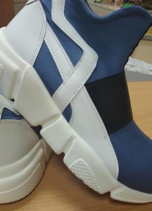 Спортивні черевики (неопрен комбінований з натур. шкірою), роз. 32,34,36