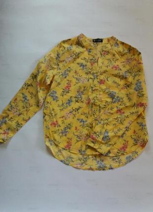 Красивая натуральная блузка
