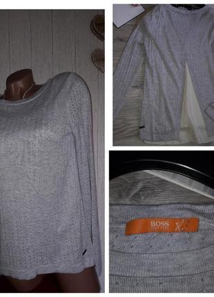 Boss orange свитерок 2 в 1 .шелк р. xs сток оригинал