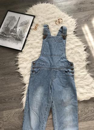 Sale крутой стильный джинсовый комбинезон 🖤tammy🖤