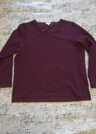 Теплый свитер,кофта,джемпер, текстурная ткань, германия,размер евро 44/46, наш 50/52