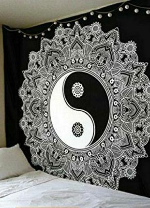 Скидка!!🔥декоративное панно, индийский текстиль, ин-ян