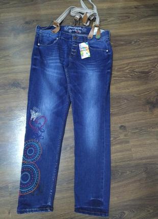 Доя настоящей модницы крутые джинсы desigual