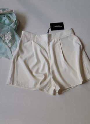 Креповые шорты- юбка  бермуды