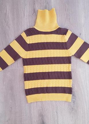 Гольф свитер на мальчика или девочку пчёлка 116 122